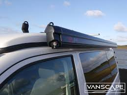 Vw T5 Awnings Fitted Vw T5 T6 Lwb Canopy Awning Fiamma F45s 300 Black Cassette