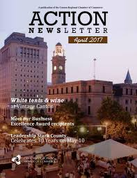 action newsletter april 2017 by canton regional chamber of