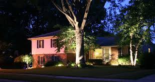 Where To Place Landscape Lighting Outdoor Landscape Lighting Georgetown Ky Leisure Lawn Landscaping