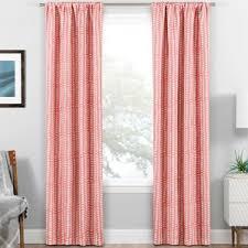 Geometric Orange Curtains Geometric Curtains U0026 Drapes You U0027ll Love Wayfair