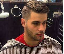 short haircuts eith tapered sides tapered side part mens side part hair short hairstyles with