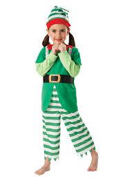 child christmas elf fancy dress costume santa u0027s helper xmas kids