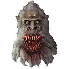 Fluffy Halloween Costumes Creepshow Fluffy Crate Beast Costume Mask Beast Costume