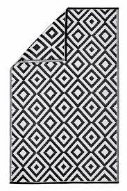 teppich schwarz weiss outdoor carprola for