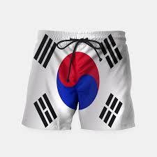 South Korea Flag Flag Of South Korea Swim Shorts Live Heroes
