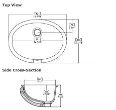 Standard Kitchen Sink Size Kitchen by Bathroom Sink Dimensions U2013 Home Design And Decorating