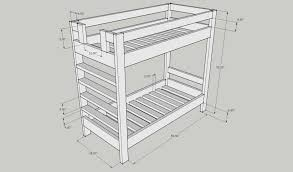 genosjan com how to build bunk beds bunk bed plans