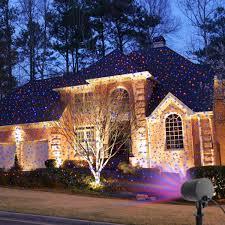 christmas laser lights for house laser christmas lights landscape projector lights outdoor