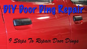 diy door ding repair 9 steps how to repair dings yourself