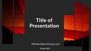 designs powerpoint flat design templates for powerpoint title slide