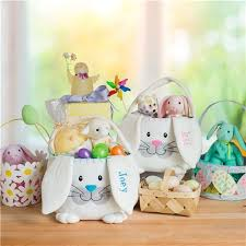 personalized easter bunnies plush personalized easter baskets