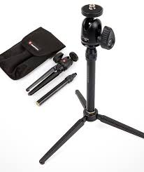 manfrotto table top tripod kit 209 492long tabletop tripod with head