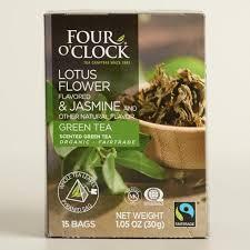 Lotus Flower Tea - 4 o u0027clock jasmine and lotus flower green tea 15 count world market