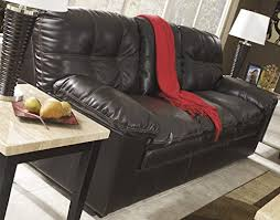Durablend Leather Sofa Jordon Durablend Contemporary Java Color Faux Leather Sofa Best