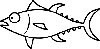 confused cartoon fish coloring page sheet wecoloringpage