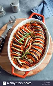 ratatouille traditional french provencal vegetable dish cooked