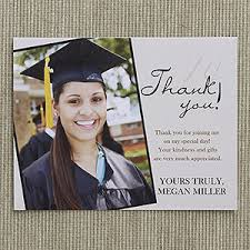 thank you graduation cards refined graduate custom thank you cards graduation gifts gift