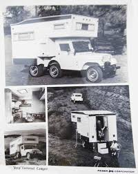 vintage jeep ad jeep camper 1969 cj5 camper advertising images and photos