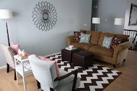 chevron rug living room room