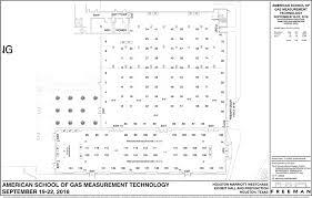 Exhibition Floor Plan American Of Gas Measurement Technology Marriott Exhibit
