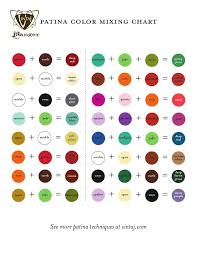 patina color mixing chart color mixing chart color mixing and