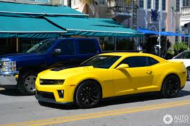 yellow camaro zl1 chevrolet camaro zl1 13 april 2014 autogespot
