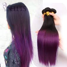 purple hair extensions ombre hair extensions two tone purple weave 10