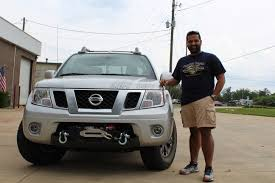 nissan trucks 2005 2005 2017 nissan frontier front winch carrier from wam bumpers