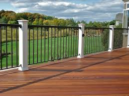 Decking Banister Alumni Railing Fireball Fab Products Mn