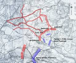 Battle Of New Orleans Map by Battle Of Gaines U0027s Mill U2013 The Federal Wave Crests U2013 Civil War