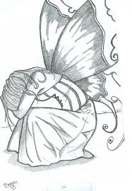 pictures pencil drawing easy fairy drawing art gallery