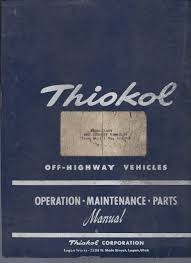 thiokol 1404 imp manual