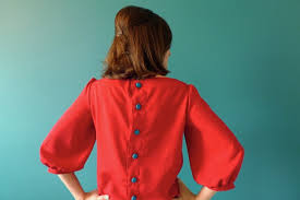 button blouses tilly and the buttons button back blouse