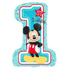 Mickey Mouse 1st Birthday Card Mickey Mouse 1st Birthday Party Supplies Party Delights