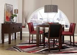 counter height sets discount furniture online store discounted 10577 couture 5 piece counter height set free dfw delivery