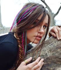 hair feathers 23 best hair wraps and feathers images on dreadlocks