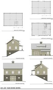 horse barn layouts floor plans the 1828 bank barn barn plans thenorthamericanbarn com top