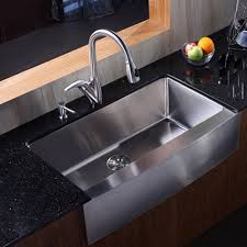 Kitchen Faucets For Granite Countertops Kitchen Black Countertop Mixed With Stainless Kitchen Sink And