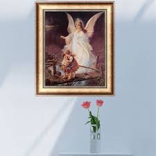 Angels Home Decor by Compare Prices On Paintings Guardian Angels Online Shopping Buy