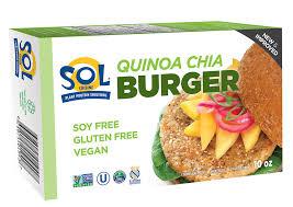 quinoa cuisine quinoa chia burger sol cuisine