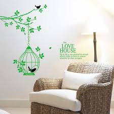 Birdcage Home Decor Online Get Cheap Birds Wall Decor Aliexpress Com Alibaba Group