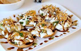 indian chaat cuisine papdi chaat ร ปภาพร าน indian essence ใน คลองเตย กร งเทพและป