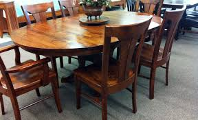 dining room prominent solid wood dining table seats 10