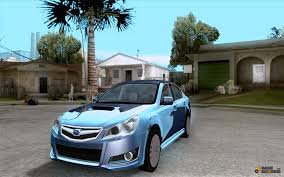 2010 subaru legacy custom subaru legacy 2010 v 2 for gta san andreas