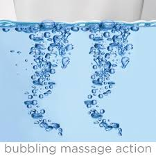spa shower bath tub baby child infant lil luxuries whirlpool motorized water jet creates bubbles and vibrations for a fun soothing spa effect