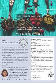 ancient wisdom modern kitchen events u2014 the sacred kitchen