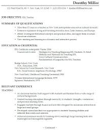 Resume For Teachers Job by Online Teaching Resume Best Resume Collection