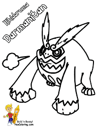 quick pokemon black white coloring pages drilbur scrafty