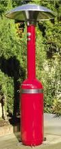 Free Standing Patio Heaters by Memphis 13kw Heat Focus Freestanding Lpg Gas Patio Heater Red
