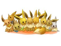 eevee pokémon wallpaper 225571 zerochan anime image board